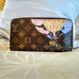 Louis Vuitton Zippy Illustre Monogram wallet